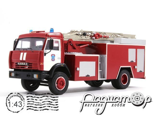 КамАЗ АЦЛ-17 пожарный (1988) 3-47