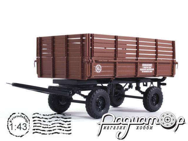Прицеп самосвальный тракторный 2ПТС-4 (1990) BR001