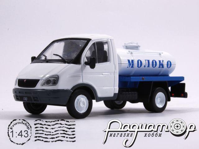 Автомобиль на службе №48, ГАЗ-3302 «Газель» молоковоз (1994) (z)