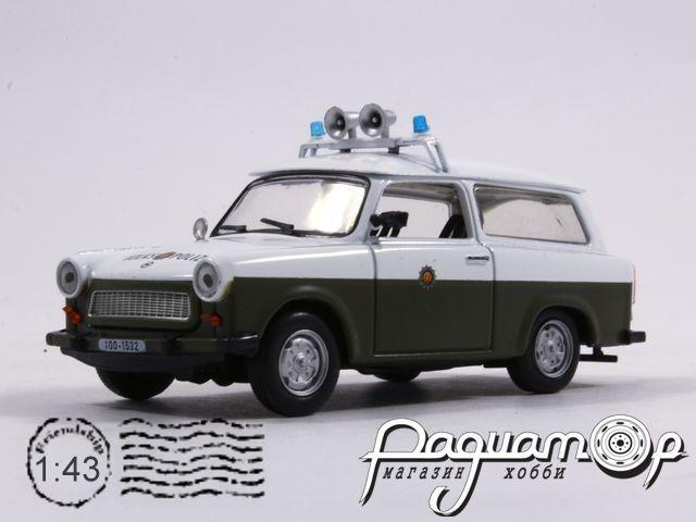 Полицейские машины мира №22, Trabant 601 Kombi Народная Полиция ГДР (1963)