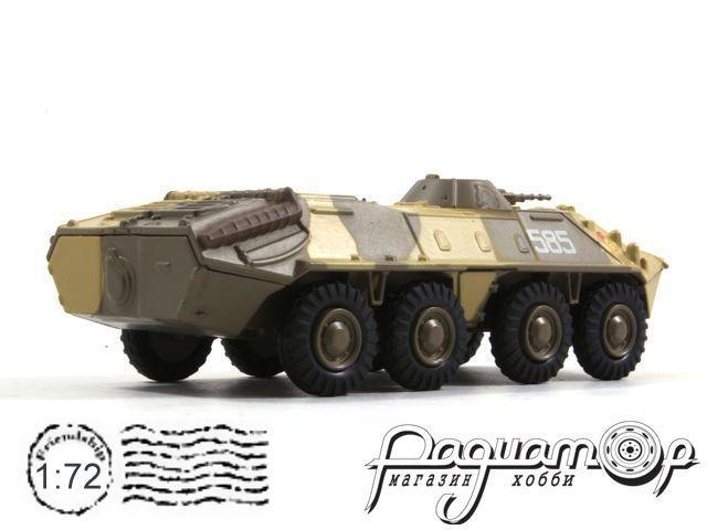 Русские танки №83, БТР-70 камуфляж (1972)