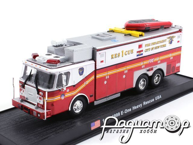 E-One Heavy Rescue USA пожарная (1999) KWS004