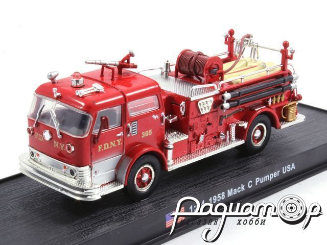 Mack C Pumper USA пожарная (1958) KWS008