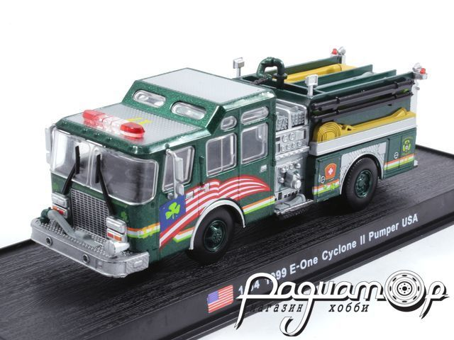 E-One Cyclone II Pumper USA пожарный (1999) KWS012