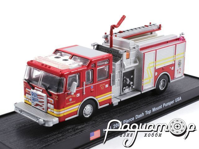 Pierce Dash Top Mount Pumper USA пожарная (2006) KWS014