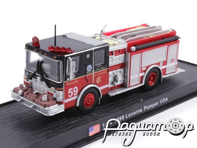 Luverne Pumper USA пожарная (1998) KWS015