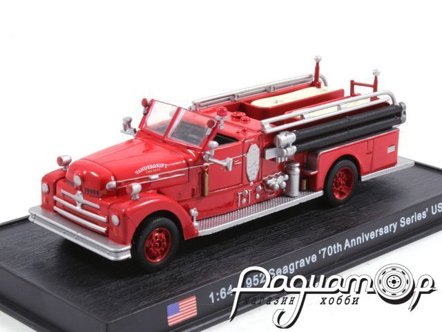 Seagrave 70th Anniversary Series USA пожарная (1952) KWS019
