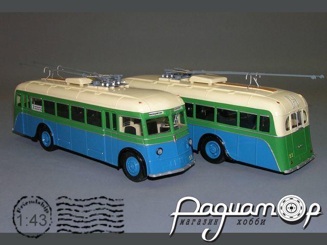 Троллейбус ЯТБ-2 модернизированный (1937) V1-04