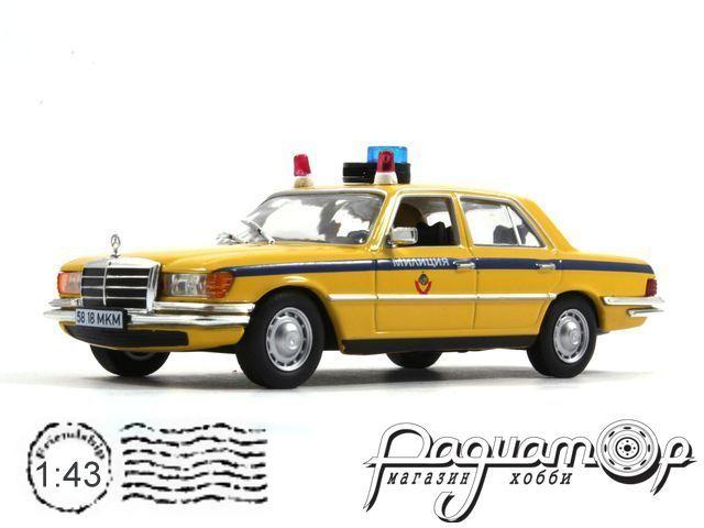 Полицейские машины мира №23, Mercedes-Benz 450 SEL (W116) Mилиция СССР (1972)
