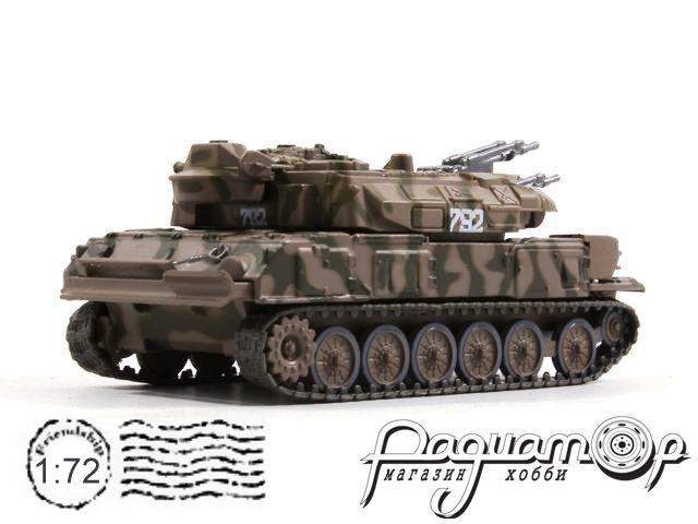 Русские танки №84, ЗСУ-23-4 «Шилка» камуфляж (1960)