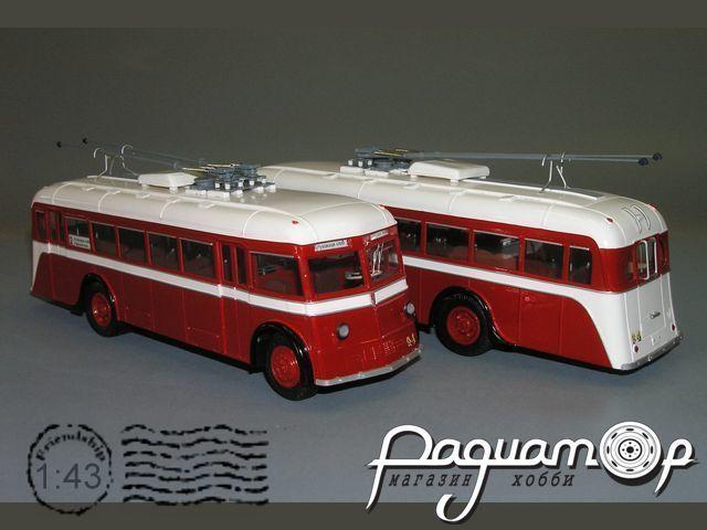 Троллейбус ЯТБ-2 из к/ф «Подкидыш» (1939) V1-04.1