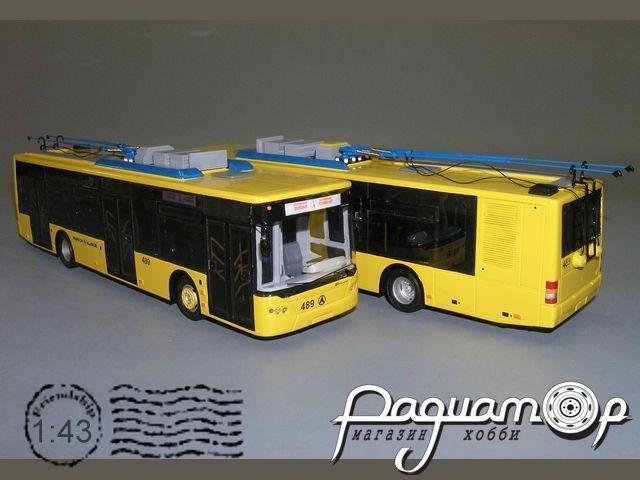 Троллейбус ЛАЗ-Е183 низкопольный (2004) V9-71.1
