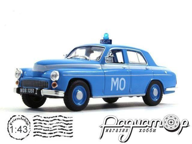 Полицейские машины мира №24, Warszawa 223 Полиция Польши (1951)