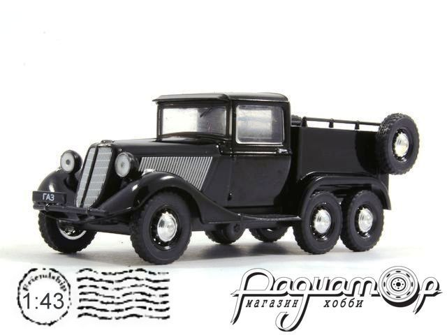 Автолегенды СССР №117, ГАЗ-21 (1937)