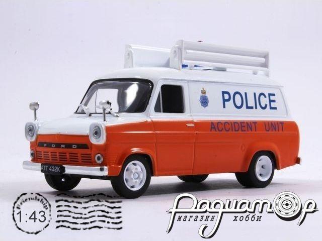Полицейские машины мира №31, Ford Transit MK1 городская Полиция Великобритании (1951)
