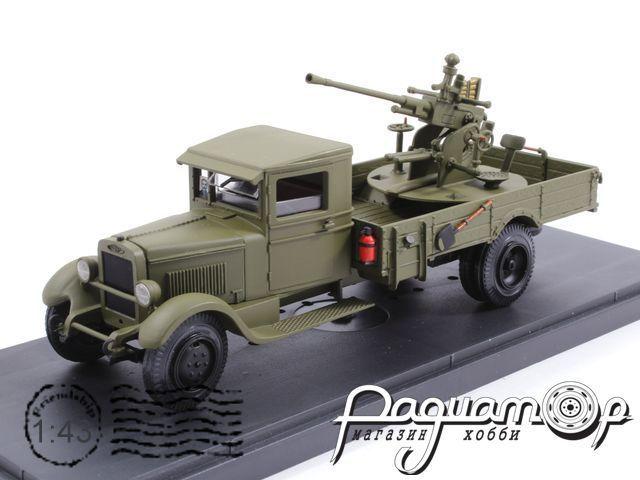 ЗиС-12 с зенитной установкой (37мм) (1942) MK194