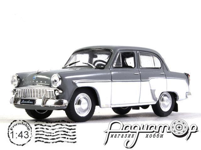 Автолегенды СССР Лучшее №3, Москвич-407 (1958)