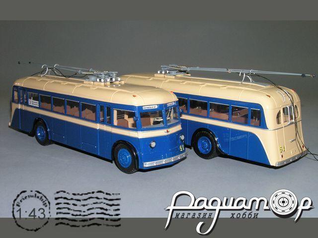 Троллейбус ЯТБ-4 облегчённый (1938) V1-04.4