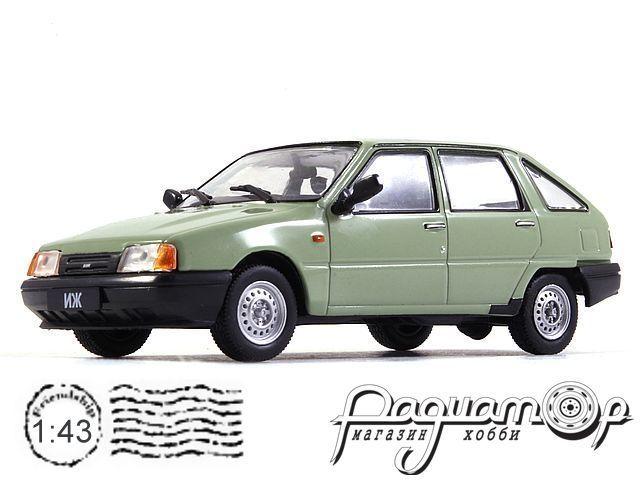 Автолегенды СССР №58, Иж-2126 «Орбита» (1990)