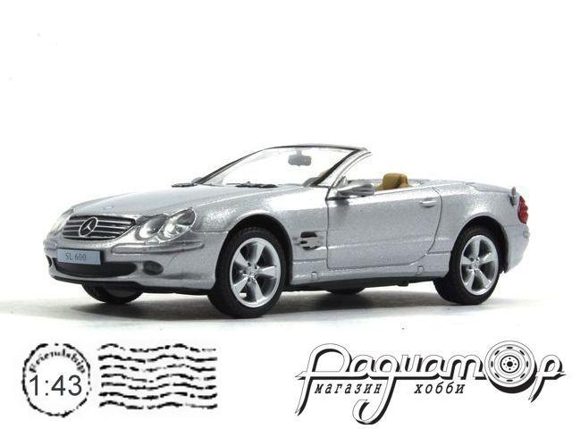Суперкары №76, Mercedes-Benz SL600 Cabrio (2004)