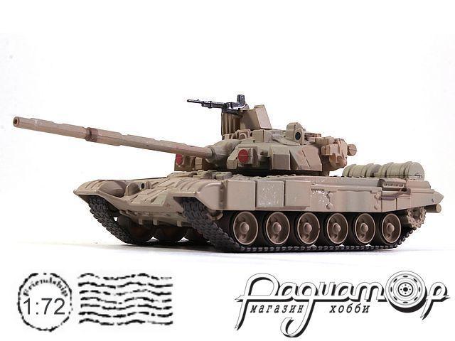 Русские танки №86, Т-90 «Владимир» светлый камуфляж (1992) (L)