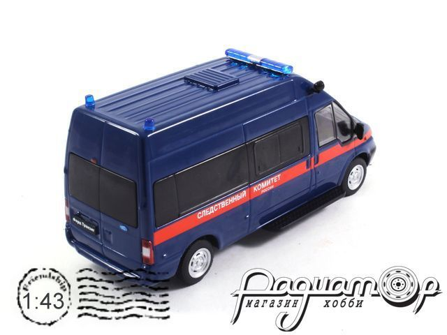 Автомобиль на службе №62, Ford Transit следственный комитет РФ (2010)