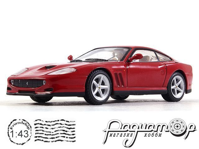 Коллекция Феррари №47 Ferrari 550 Maranello (1996)