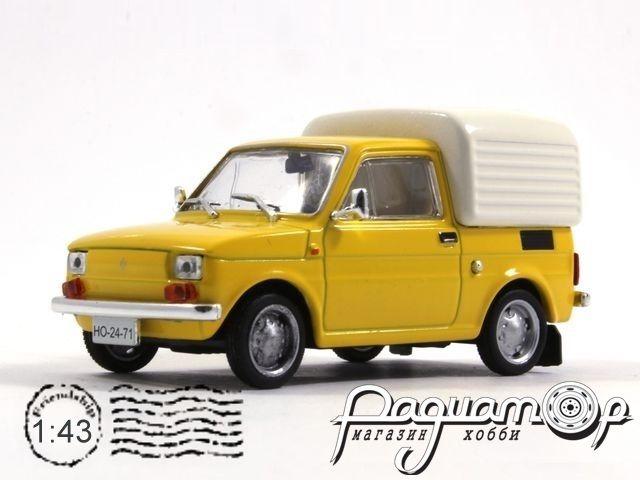 Retroautok №124, Fiat 126P Bombel (1975) (PV)