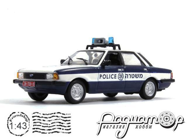 Полицейские машины мира №26, Ford Cortina Полиция Израиля (1962)