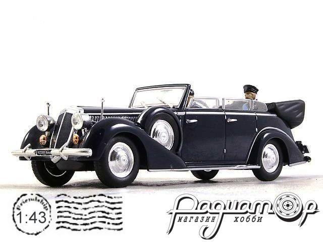 Lancia Astura IV Serie с фигурой короля Vittorio Emmanuele III (1938) 570138 (PL)
