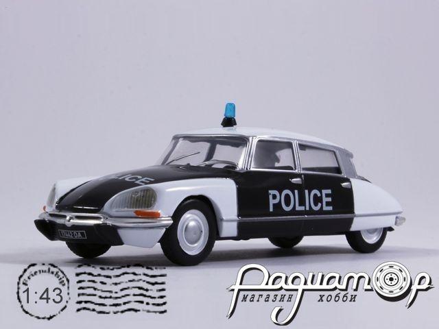 Полицейские машины мира №33, Citroen DS21 Полиция Франции (1962)