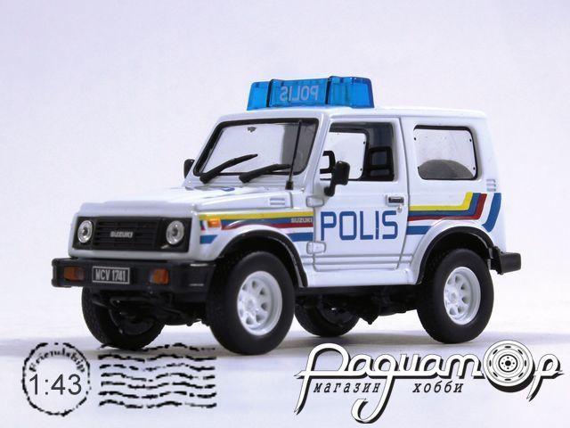 Полицейские машины мира №27, Suzuki Samurai Полиция Малайзии (1969)