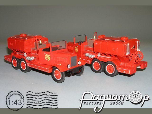НАТИ-ПНВД (6х4) пожарная цистерна (1935) СZ-09.1