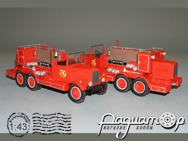 НАТИ-ПНВД (6х4) пожарный насос (1935) С4-65