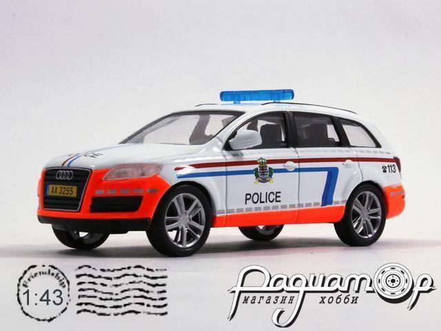 Полицейские машины мира №28, Audi Q7 Полиция Люксембурга (2005)