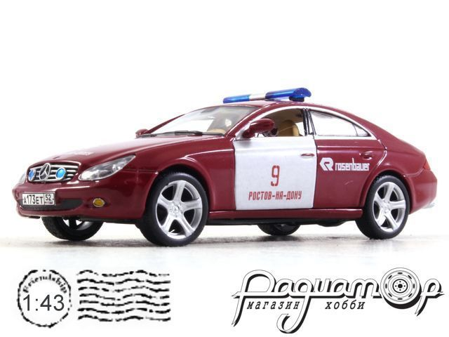 Mercedes-Benz CLS Пожарный штаб Ростова (2004) 0440