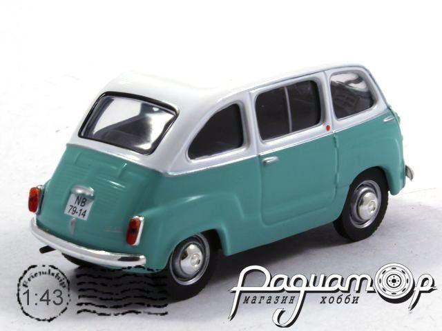Retroautok №129, Fiat Multipla (1956)