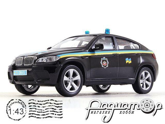 BMW X6M МВД Украины (2009) 1913