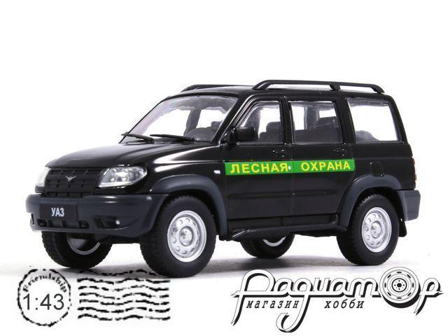 Автомобиль на службе №57, УАЗ-3163 Patriot Лесная охрана (2005)