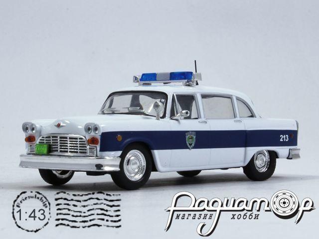 Полицейские машины мира №32, Checker Marathon Полиция города Эксетер, США (1961)