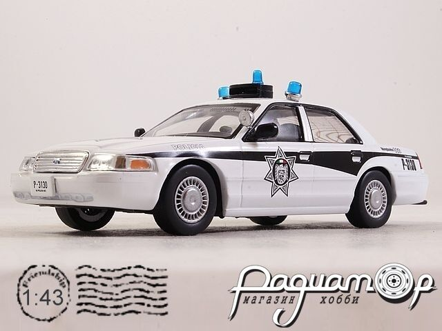 Ford Crown Victoria Полиция Мексики (1992) 2334