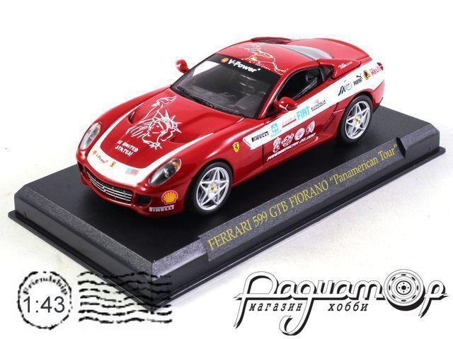 Коллекция Феррари №66 Ferrari 599 GTB Fiorano