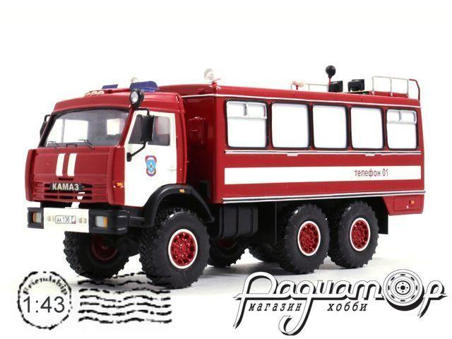 КамАЗ-43114 АСО-20 пожарный (2003) 3-13