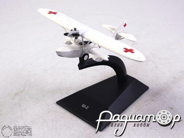 Легендарные самолеты №82, Ш-2 (1932) 1:100