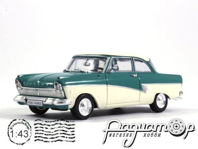 Masini de Legenda №68, Ford Taunus 12M P4 (1962) (ML)