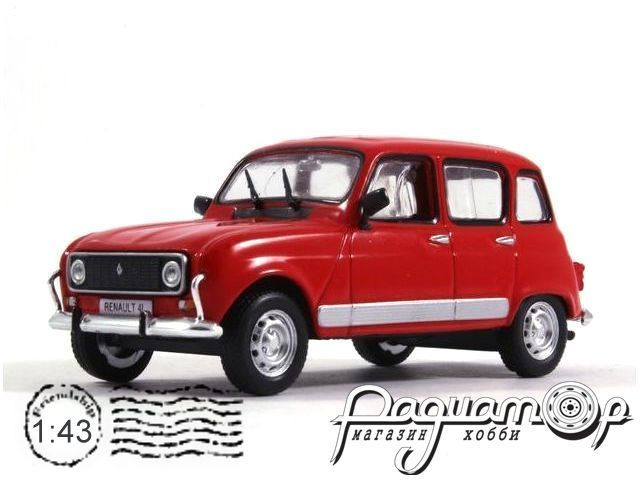 Masini de Legenda №67, Renault 4L (1961) (ML)