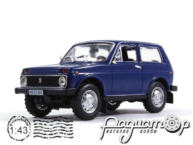 Masini de Legenda №16, ВАЗ-2121 «Нива» (1981) (ML)