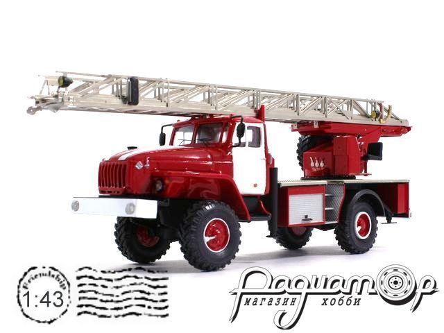 Урал-43206 АЛ-30 пожарная (1990) 5-15-2