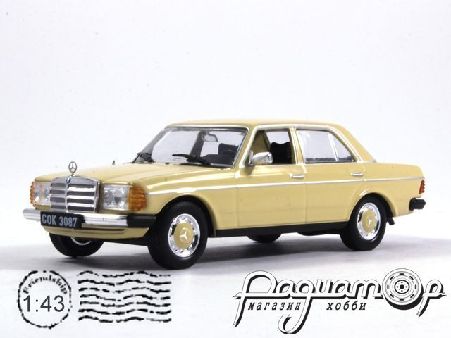 Kultowe Auta PRL-u №161, Mercedes-Benz 200-280E (W123) (1976)
