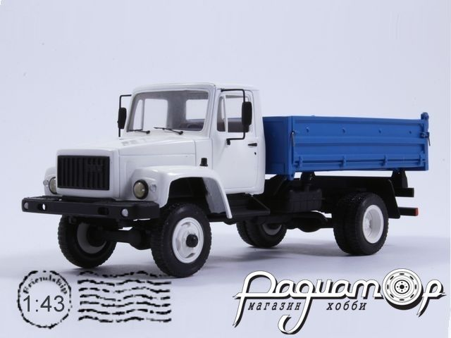 ГАЗ-САЗ-25064 самосвал (2000) KM106